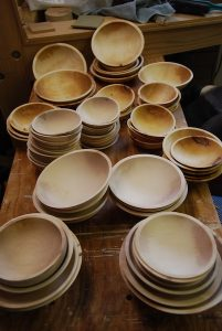 Bowls Madow turned to support project